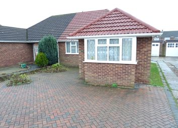 Thumbnail 3 bed semi-detached bungalow for sale in Queen Marys Drive, New Haw