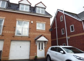 Thumbnail 4 bed town house to rent in Acorn Close, Penwortham, Preston