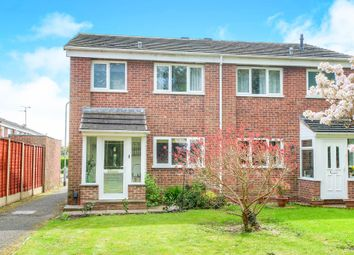 Thumbnail 3 bedroom semi-detached house for sale in Merevale Close, Matchborough West, Redditch