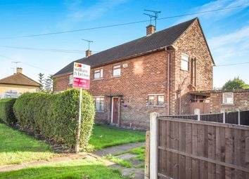 Thumbnail 3 bedroom semi-detached house for sale in Caledine Road, Leicester