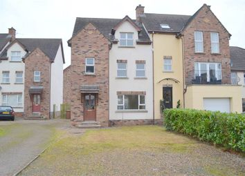 Thumbnail 4 bed town house for sale in 89, Lakelands, Craigavon