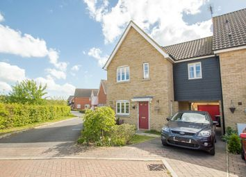 Thumbnail 3 bed link-detached house for sale in Brickfields Drive, Haverhill
