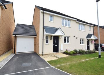 Thumbnail 3 bed semi-detached house to rent in Pintail Close, Bude