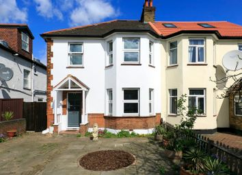 Thumbnail 3 bed semi-detached house for sale in Popham Gardens, Kew, Surrey