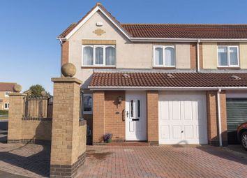 Thumbnail 3 bed semi-detached house for sale in Priory Park, Amble, Morpeth