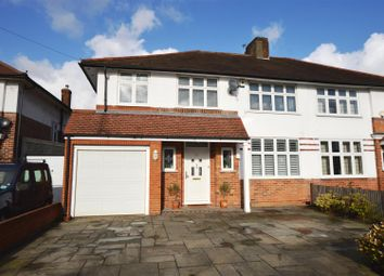 Thumbnail 4 bed semi-detached house for sale in Malden Green Avenue, Worcester Park