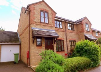 Thumbnail 3 bed semi-detached house to rent in Rodwell Gardens, Old Farm Park, Milton Keynes