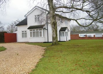Thumbnail 4 bed detached house to rent in Warwick Road, Solihull