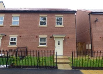 Thumbnail 3 bed semi-detached house to rent in Maybury Road, Hull