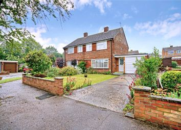 Thumbnail 3 bed semi-detached house for sale in Apple Grove, Eaton Ford, St. Neots, Cambridgeshire