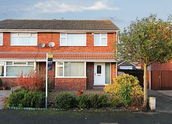 Thumbnail 3 bedroom semi-detached house for sale in Percy Close, Leconfield, Beverley