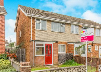 Thumbnail 3 bed semi-detached house for sale in Canada Road, Southampton