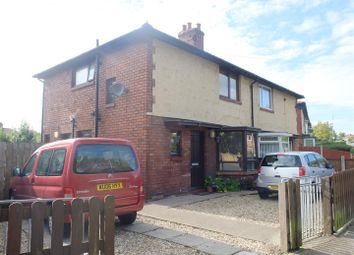 Thumbnail 3 bed semi-detached house for sale in Durranhill Road, Carlisle