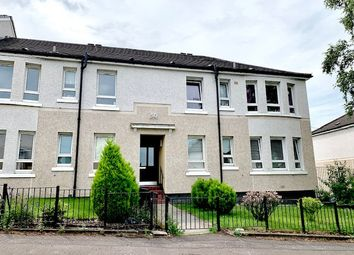 Thumbnail 2 bed flat for sale in Bangorshill Street, Thornliebank, Glasgow
