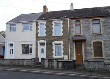 Thumbnail 2 bed terraced house to rent in Cwmbach Road, Swansea