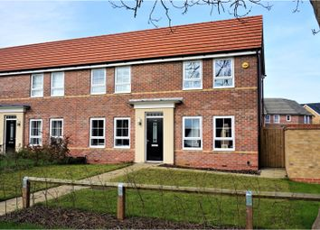 Thumbnail 3 bed semi-detached house for sale in London Road, Peterborough