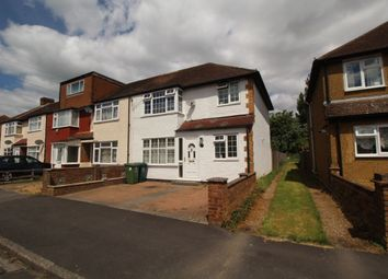 Thumbnail 3 bed terraced house for sale in Cranford Avenue, Stanwell, Staines
