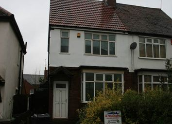 Thumbnail 3 bed flat to rent in Follyhouse Lane, Highgate, Walsall