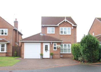 Thumbnail 3 bed detached house for sale in Ovingham Close, Washington