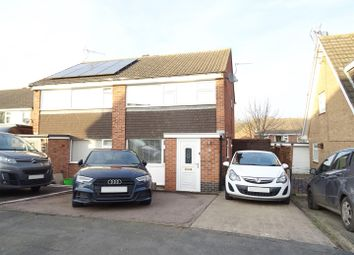 Thumbnail 3 bed semi-detached house for sale in Northwood Drive, Shepshed, Loughborough
