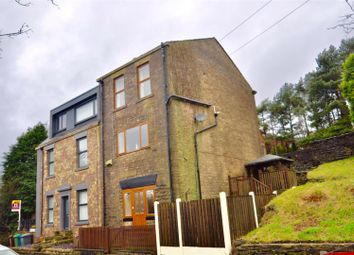 Thumbnail 3 bed semi-detached house for sale in Huddersfield Road, Austerlands, Oldham