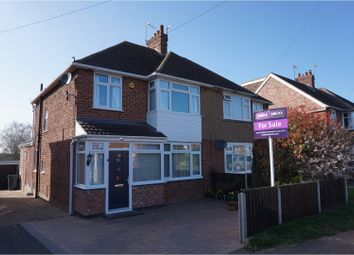Thumbnail 3 bedroom semi-detached house for sale in St. Catherines Crescent, Leamington Spa