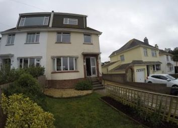 Thumbnail 4 bed semi-detached house to rent in Heath Park, Brixham