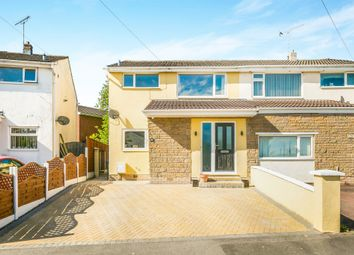 Thumbnail 3 bed semi-detached house for sale in Overton Close, Buckley