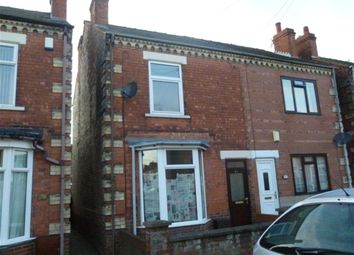 Thumbnail 3 bed semi-detached house to rent in Asquith Street, Gainsborough, Lincolnshire