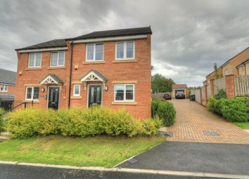 Thumbnail 2 bed semi-detached house for sale in Kirkfields, Sherburn Hill, Durham