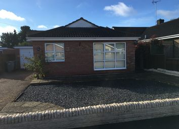 Thumbnail 2 bed detached house to rent in Two Bedroom Bungalow, Manor Way, Deeping St James