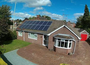 Thumbnail 3 bed detached bungalow for sale in Allen Gardens, Market Drayton