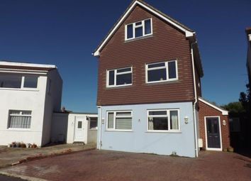 Thumbnail 4 bed detached house for sale in Sandy Beach Estate, Hayling Island