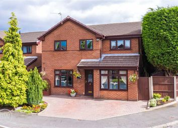 Thumbnail 4 bed detached house for sale in Holdenbrook Close, Leigh, Lancashire