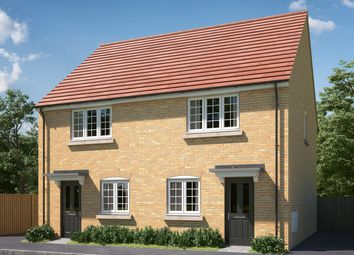"Thumbnail 2 bed semi-detached house for sale in ""The Hardwick"" at Mepal Road, Sutton, Ely"
