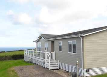 Thumbnail 2 bed mobile/park home for sale in Ocean Cove Coastal Retreat, Bossiney, Tintagel
