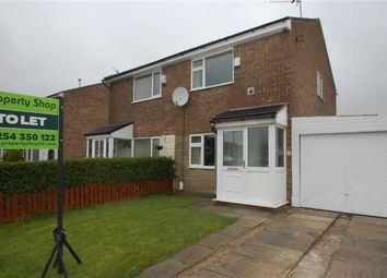 Thumbnail 3 bed semi-detached house to rent in Walmsley Avenue, Rishton, Blackburn