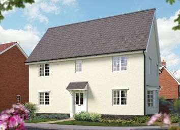 "Thumbnail 4 bed detached house for sale in ""The Norwich"" at Silfield Road, Wymondham"