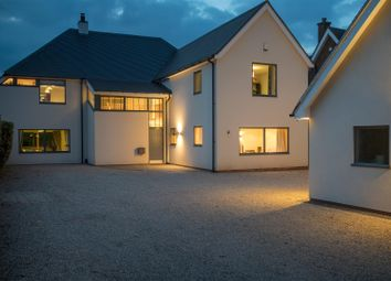 Thumbnail 5 bed detached house for sale in Station Road, Cropston, Leicester