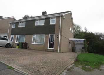 Thumbnail 3 bed semi-detached house for sale in Brook Close, Plympton, Plymouth