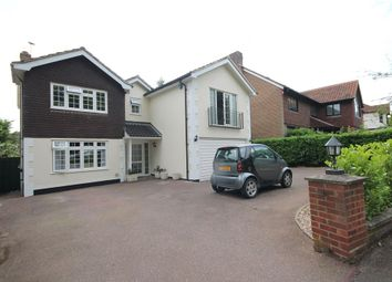 Thumbnail 4 bed detached house to rent in Upper Park, Loughton