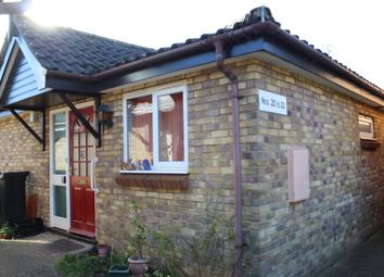 Thumbnail 2 bedroom terraced bungalow for sale in Kimbolton Court, Lincoln Road, Peterborough