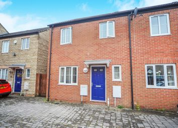Thumbnail 3 bed semi-detached house for sale in Zander Road, Calne