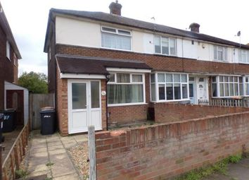 Thumbnail 2 bed end terrace house for sale in Winchester Road, Bedford, Bedfordshire