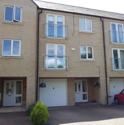 Thumbnail 4 bedroom terraced house to rent in Skipper Way, Little Paxton, St. Neots