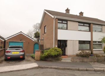 Thumbnail 3 bed semi-detached house for sale in Beechdene Crescent, Newtownards