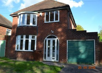 Thumbnail 3 bed detached house to rent in Wilkes Avenue, Walsall