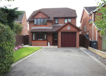 Thumbnail 4 bed detached house for sale in Normandy Road, Hilton, Derby