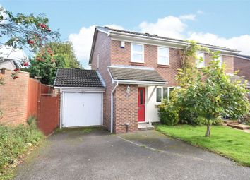 Thumbnail 3 bed semi-detached house for sale in Hombrook Drive, Bracknell, Berkshire
