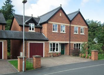 Thumbnail 4 bed detached house for sale in 8 Rock House Court, Rock Road, Llandrindod Wells, Powys